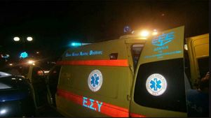 Δύο τραυματίες σε τροχαίο στη Μουδανιών
