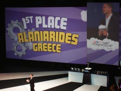 1st place, Alaniarides Greece