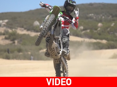Motocross: Jeremy McGrath και Αxell Ηodges