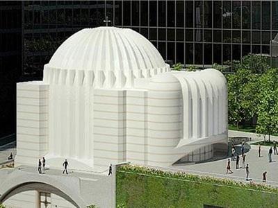 O Σ. Καλατράβα μιλά για τον σχεδιασμό του ναού του Αγίου Νικολάου στη Νέα Υόρκη