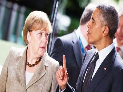 Σε στενή επαφή Ομπάμα-Μέρκελ για την Ελλάδα - συνάντηση τη Δευτέρα