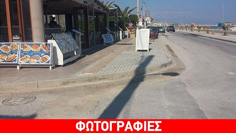 Ρέθυμνο: «Αλαλούμ» με τα έργα πρόσβασης ΑμεΑ στην ανατολική παραλία