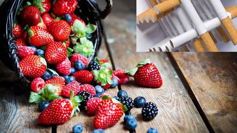 Κόψτε το κάπνισμα με φρούτα και λαχανικά!