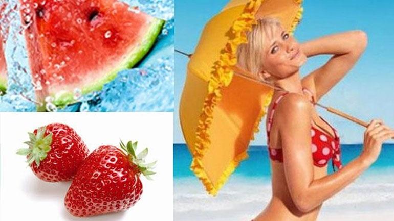 Διατροφή με υψηλό δείκτη προστασίας: Οι τροφές που προστατεύουν από τον ήλιο