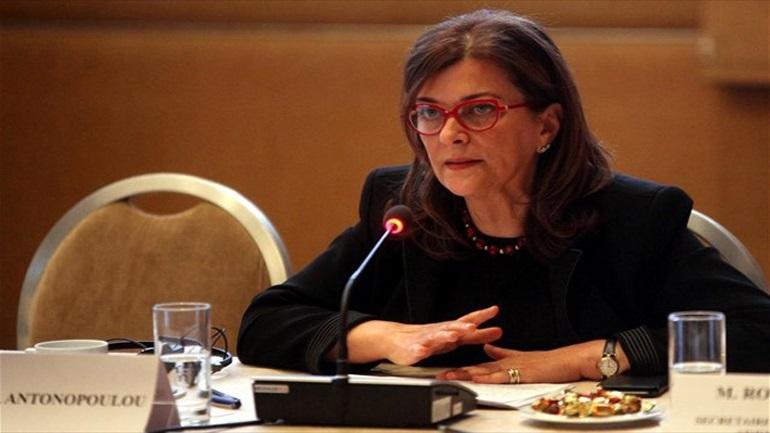 Τί απάντησε η Ρ.Αντωνοπούλου για το στεγαστικό πρόβλημα και τον ΟΕΚ στην Στερεά Ελλάδα