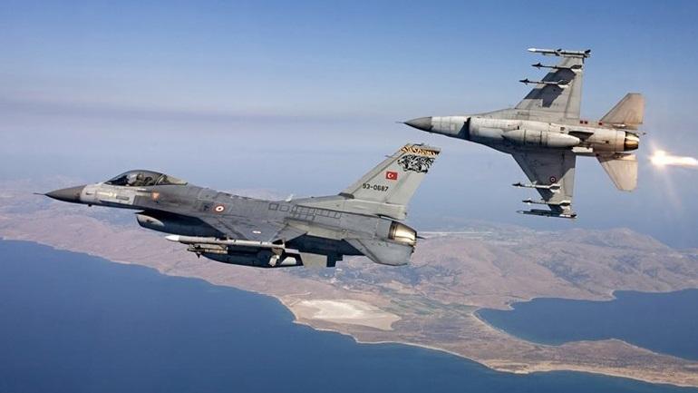 Τουρκικά αεροσκάφη πάνω από το Φαρμακονήσι