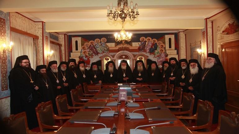 Συνέρχεται την Τρίτη η Ιερά Σύνοδος της Ιεραρχίας της Εκκλησίας της Ελλάδος