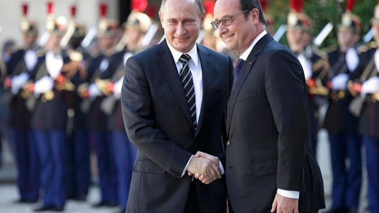 Ψυχρό κλίμα στη συνάντηση Πούτιν - Ολάντ