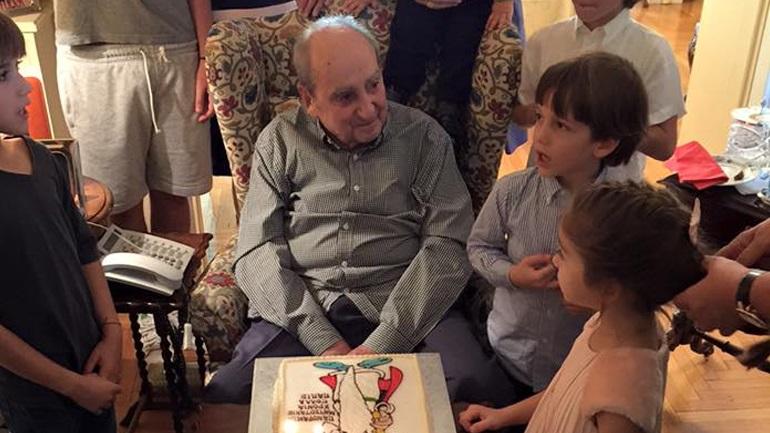 Ο Κωνσταντίνος Μητσοτάκης γιόρτασε τα 97α γενέθλιά του