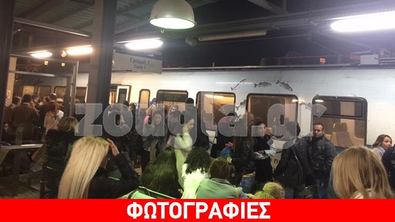 Καταγγελία: Βλάβη στο δίκτυο του Προαστιακού - Εκατοντάδες επιβάτες «εγκλωβίστηκαν» στα Άνω Λιόσια