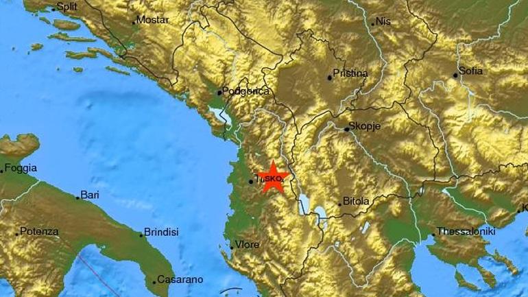 Τρεις σεισμικές δονήσεις στα Τίρανα