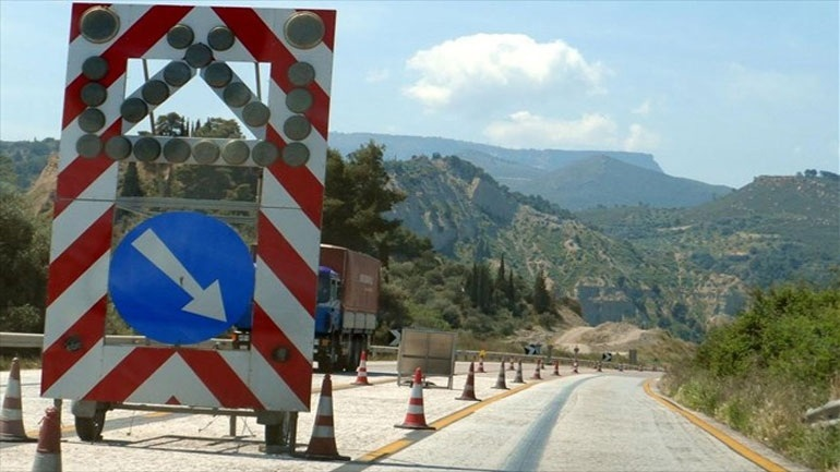 Νυχτερινές κυκλοφοριακές ρυθμίσεις στη Ν.Ε.Ο. Αθηνών - Κορίνθου