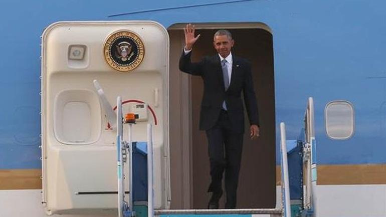 Στην Τουρκία για τη Σύνοδο των G20 ο Ομπάμα