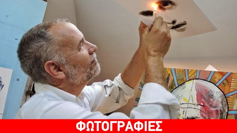 Steve Spazuk: Ο καλλιτέχνης που ζωγραφίζει με τη φωτιά