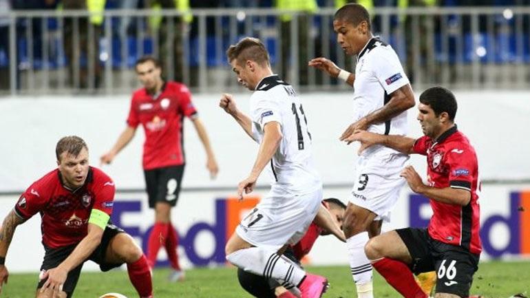 Χωρις γκολ και χωρίς νίκη ο ΠΑΟΚ, 0-0 με την Καμπάλα