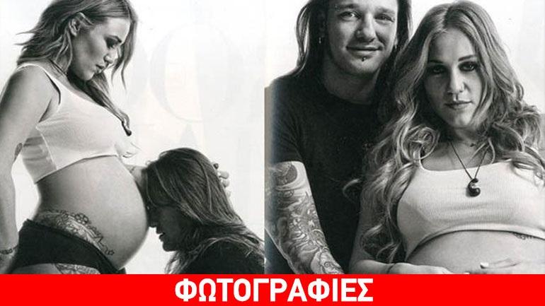 Πηνελόπη Αναστασοπούλου  Ποζάρει ολόγυμνη στον 8ο μήνα της εγκυμοσύνης της  μαζί με τον σύντροφό της! 9c80b6b2cca