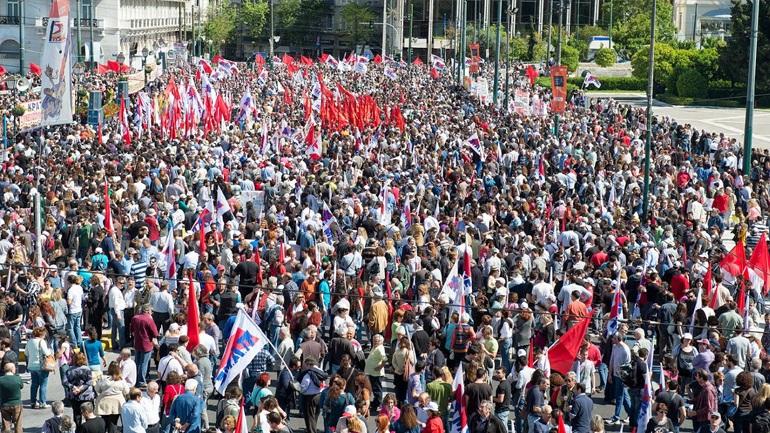 Συλλαλητήριο το απόγευμα κατά του Ασφαλιστικού από το ΠΑΜΕ
