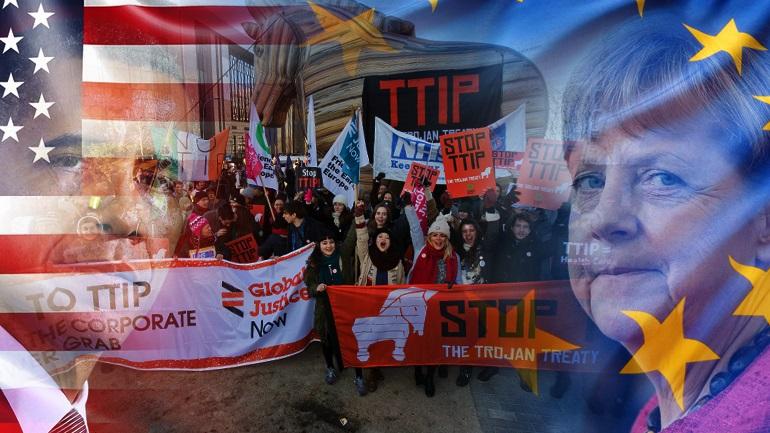Παλλαϊκός ξεσηκωμός για την TTIP