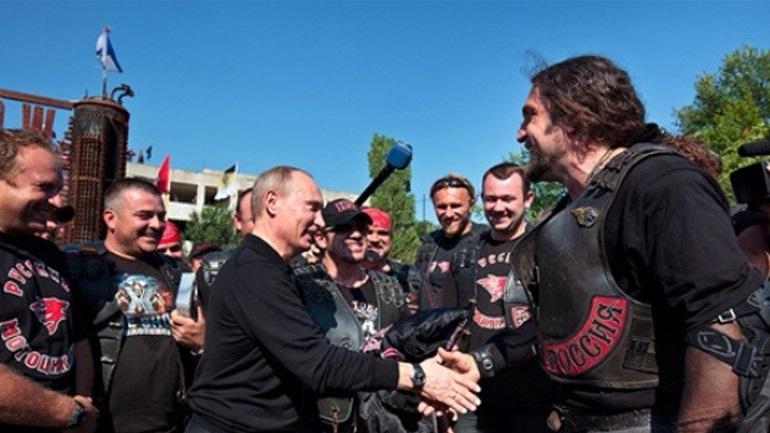 Ρώσοι μοτοσικλετιστές στο Άγιο Ορος