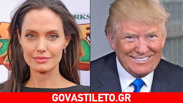 Η Angelina Jolie «καρφώνει» τον Ντόναλντ Τραμπ μιλώντας για την προσφυγική κρίση