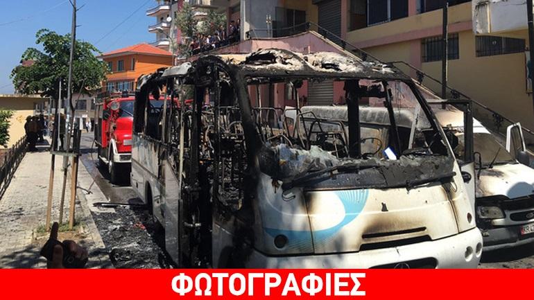 Αλβανία: Δύο νεκροί από πυρκαγιά σε λεωφορείο