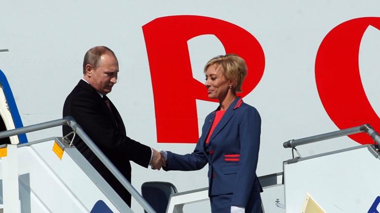 Στην Αθήνα ο Πούτιν