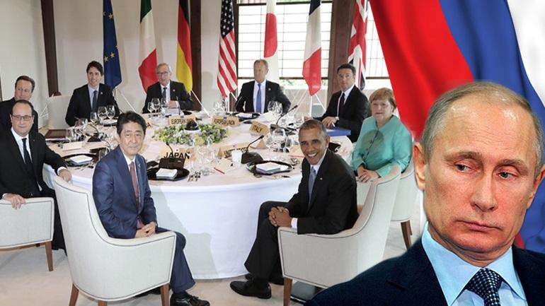 G7 εναντίον Πούτιν