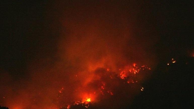 Μεγάλη πυρκαγιά στη Στεφάνη Βοιωτίας