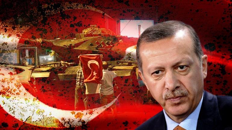 Πογκρόμ διώξεων από Ερντογάν