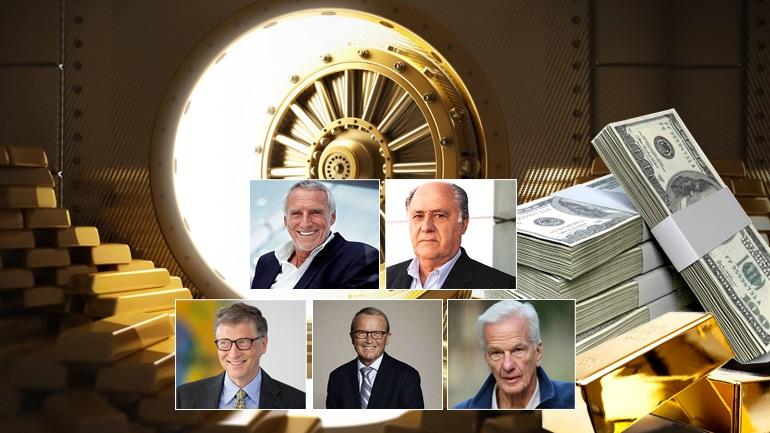 Οι πλουσιότεροι άνθρωποι του πλανήτη