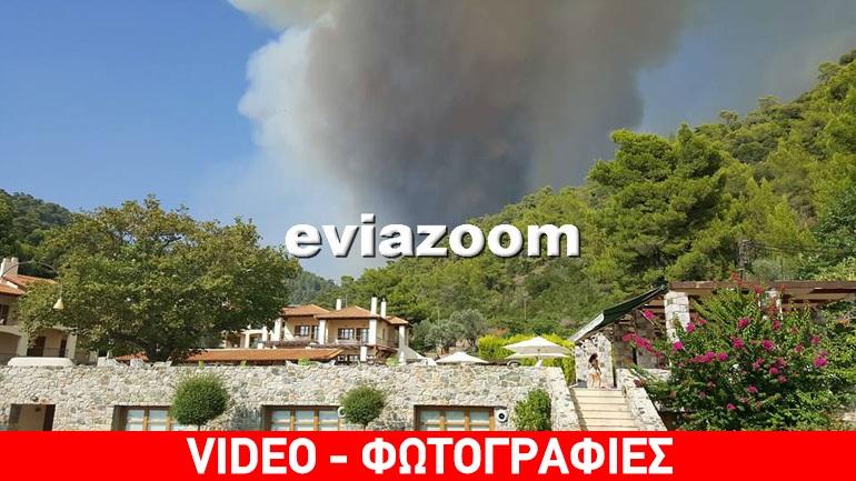 Σε ετοιμότητα για εκκένωση της Λίμνης στην Εύβοια