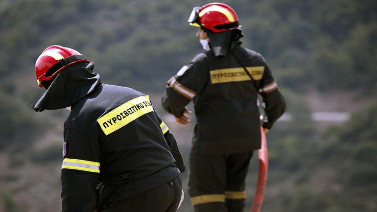 Υπό μερικό έλεγχο η πυρκαγιά στη Νεμέα