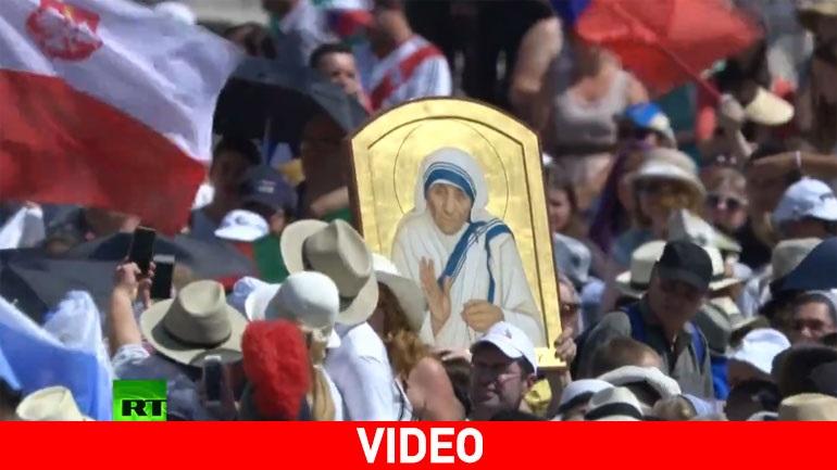 Τελετή στο Βατικανό για την αγιοποίηση της Μητέρας Τερέζας