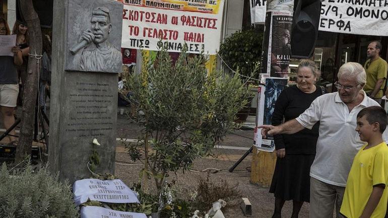 Αντιφασιστική πορεία στον Βόλο για την επέτειο δολοφονίας του Παύλου Φύσσα