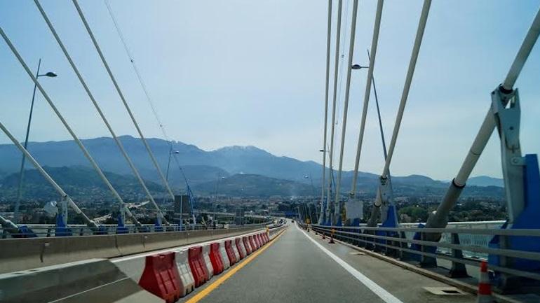 Εργασίες δομικής συντήρησης στη γέφυρα Ρίου-Αντιρρίου