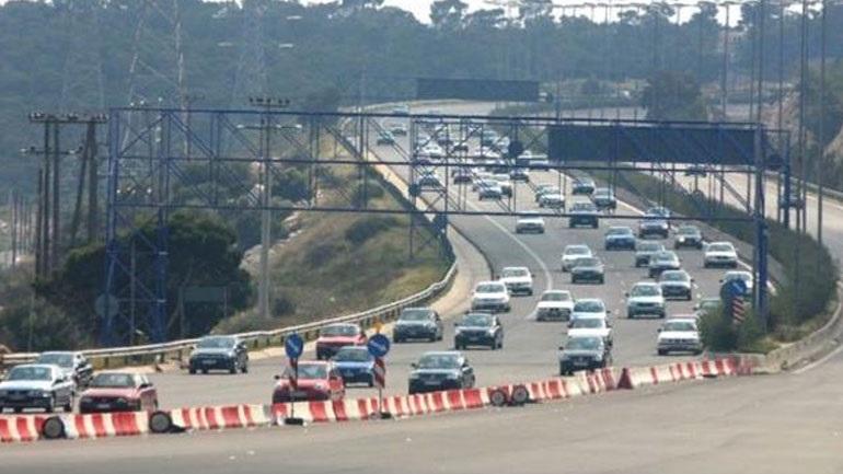 Κυκλοφοριακές ρυθμίσεις στην Αθηνών-Κορίνθου μεταξύ Αγ. Θεοδώρων-Κινέτας