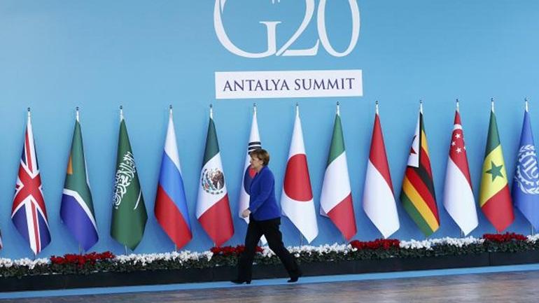 Η Γερμανία προεδρεύει των G-20 εν μέσω αβεβαιότητας και πολιτικής αστάθειας