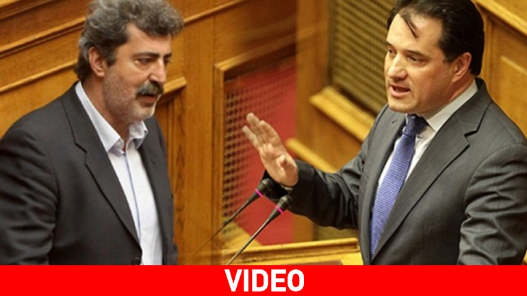 Εκτός ελέγχου Πολάκης-Άδωνις στη Βουλή: «Είσαι κότα λυράτη» - «Είσαι γαϊδούρι και απατεώνας»