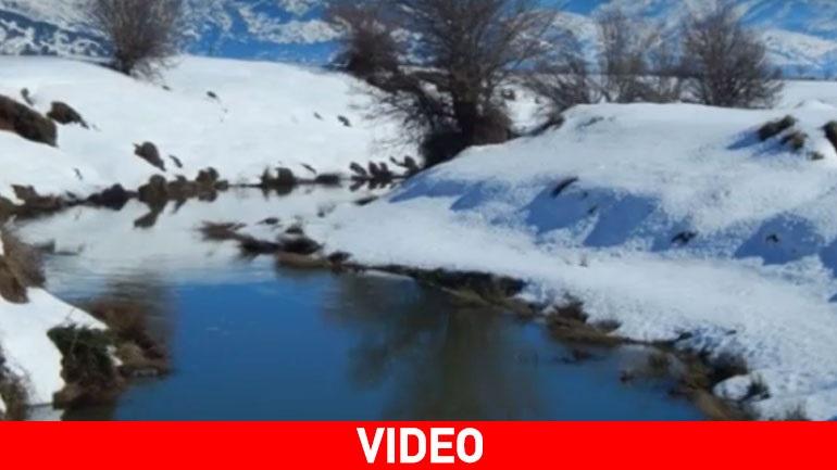 Η μαγεία της χιονισμένης Κρήτης μέσα σε... 4 λεπτά