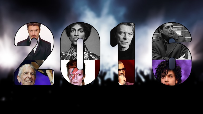 """Mαύρη"" χρονιά για τη μουσική"