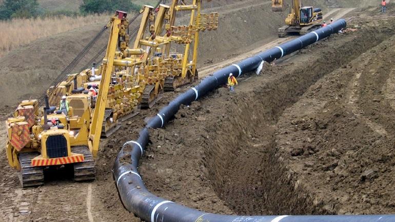 Ολοκληρώθηκαν 95 χιλιόμετρα του αγωγού φυσικού αερίου ΤΑΡ