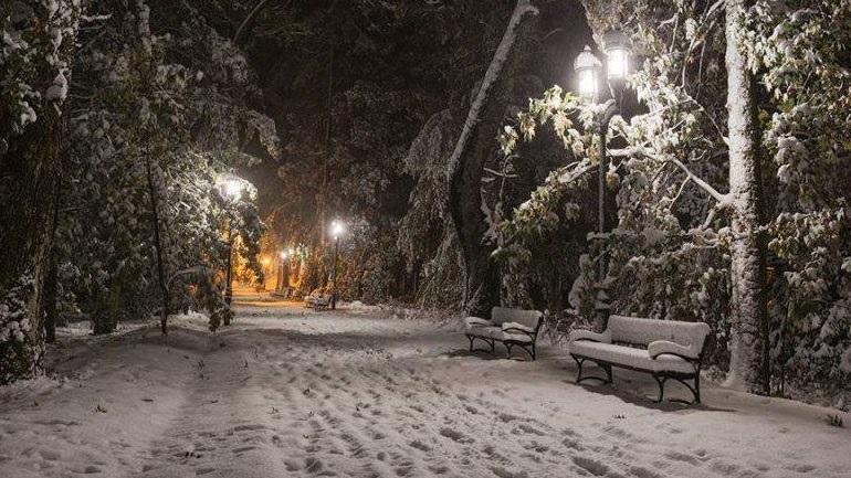 Με δριμύ ψύχος και χιόνια ο εορτασμός των Φώτων