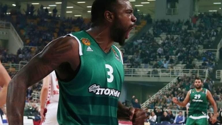 Mπάσκετ: Με τον Ρίβερς στο ΣΕΦ ο Παναθηναϊκός
