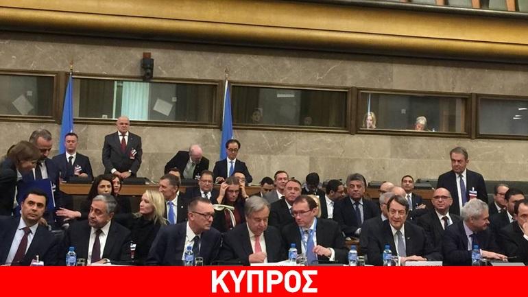 Η πρόταση Αναστασιάδη στη Διάσκεψη για το Κυπριακό