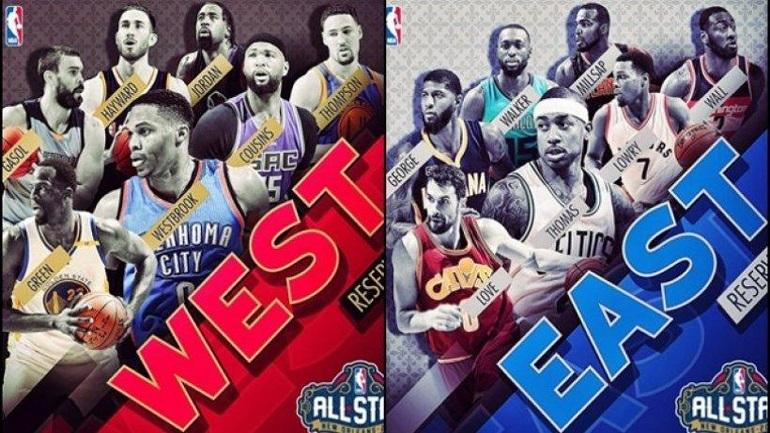 Οι αναπληρωματικές πεντάδες του All Star Game