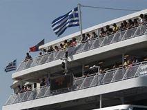 Με καθυστέρηση λόγω βλάβης στο λιμάνι του Πειραιά το master jet