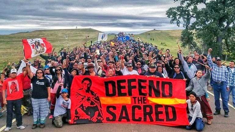 ΗΠΑ: Αποφασισμένοι να συνεχίσουν τον αγώνα τους οι διαδηλωτές, κατά της κατασκευής του αγωγού, στη Βόρεια Ντακότα