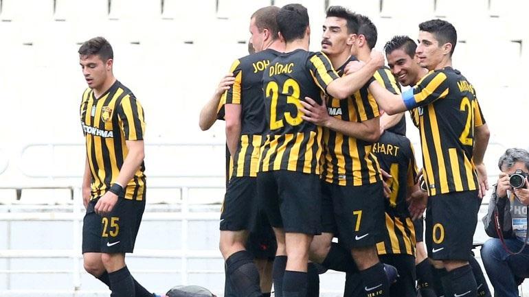 ΑΕΚ-Λάρισα 3-0 (Δεύτερο ημίχρονο)
