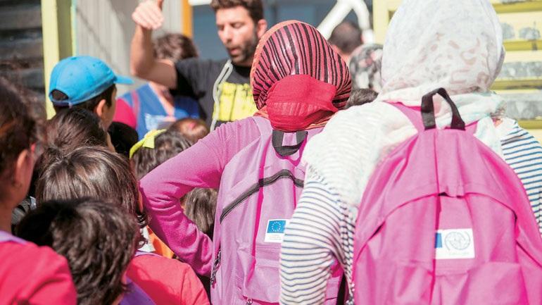 Διεθνής Οργανισμός Μετανάστευσης: 2.500 προσφυγόπουλα φοιτούν σε ελληνικά σχολεία