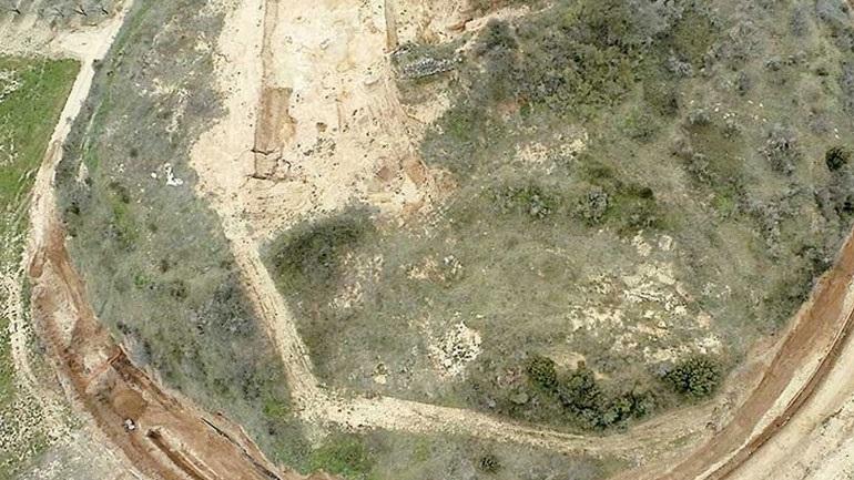 Εξουδετερώθηκε βόμβα πολύ κοντά στον τάφο της Αμφίπολης